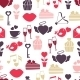 Wedding and Valentines Day Seamless Pattern - GraphicRiver Item for Sale