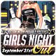 Girls Night Out - Flyer - GraphicRiver Item for Sale