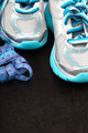 Sport shoes and measuring tape. - PhotoDune Item for Sale