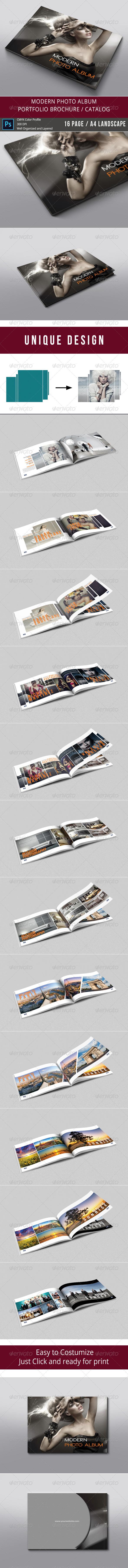 GraphicRiver Modern Photo Album 8026411