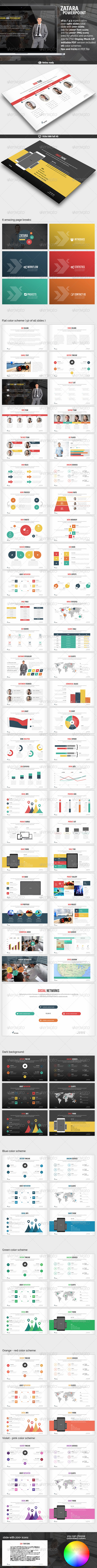 GraphicRiver Zatara Business Powerpoint Presentation 8026805