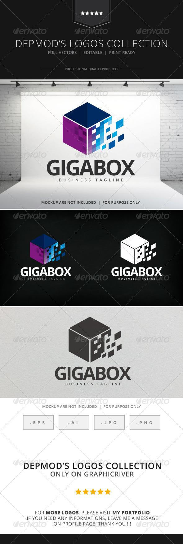 GraphicRiver Gigabox Logo 8026851