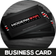 Modernwar Creative Business Card - GraphicRiver Item for Sale