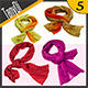Silk Scarves - GraphicRiver Item for Sale