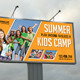 Kids Summer Camp Outdoor Banner - GraphicRiver Item for Sale