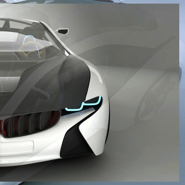 BMW I8 Vision Concept - 3DOcean Item for Sale