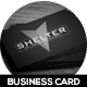 Shelter Creative Business Card - GraphicRiver Item for Sale