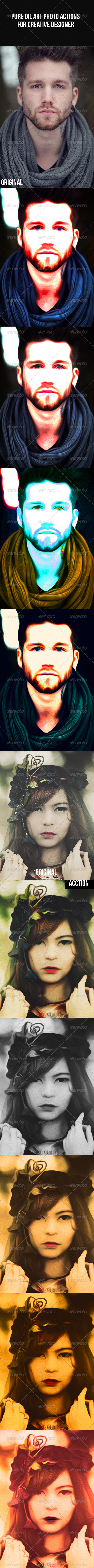 GraphicRiver Pure Oil Art Photo Actions 7987531