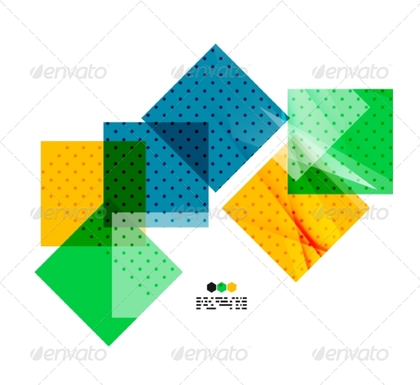 GraphicRiver Light Geometric Composition 8028408