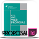 Clean Web Proposal InDesign - GraphicRiver Item for Sale