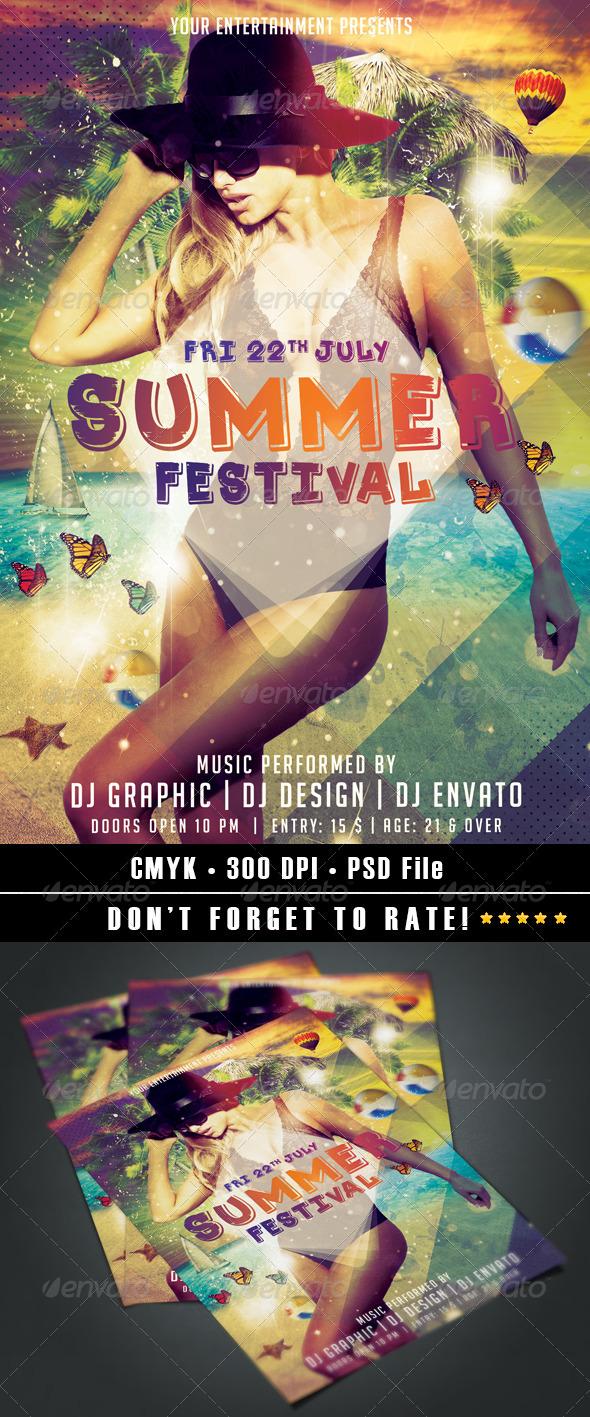 GraphicRiver Summer Festival vol.2 8028642