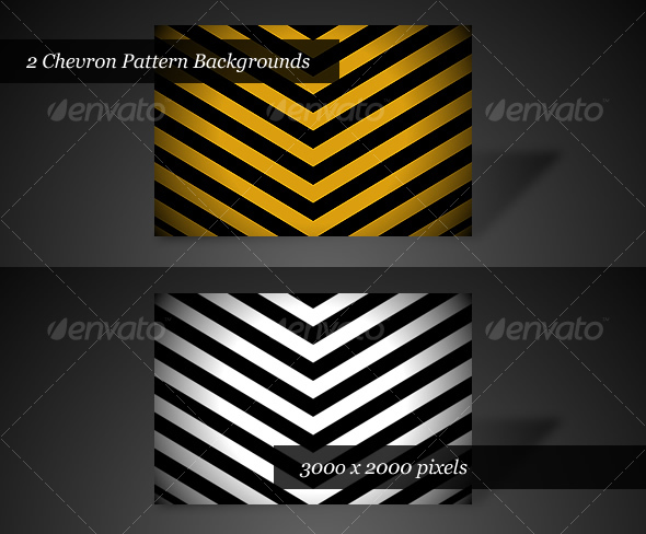 GraphicRiver Chevron Backgrounds Pack of 2 34108