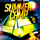 Summer Camp PSD Flyer Template - GraphicRiver Item for Sale