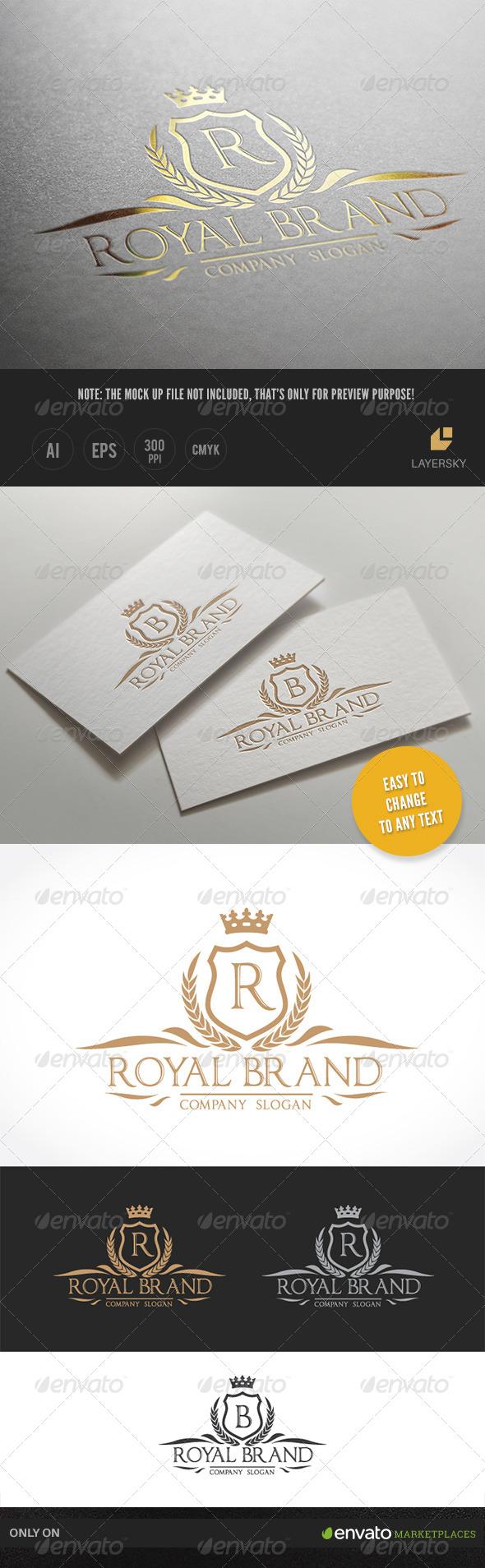 GraphicRiver Royal Brand II 8028700
