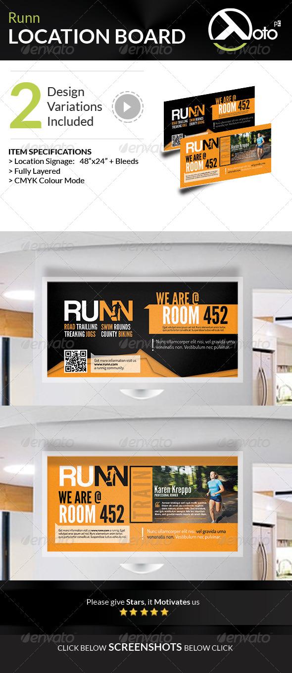 GraphicRiver Runn Marathon Running Club Fitness Location Board 8028705