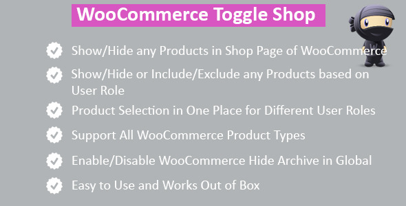 CodeCanyon WooCommerce Hide Shop Products 8028838