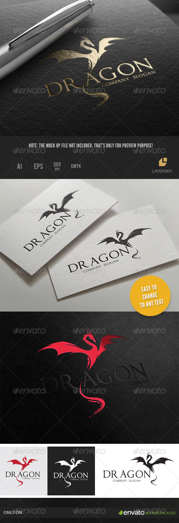 GraphicRiver Dragon 8029007