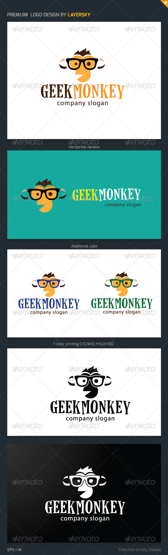 GraphicRiver Geek Monkey 8029444