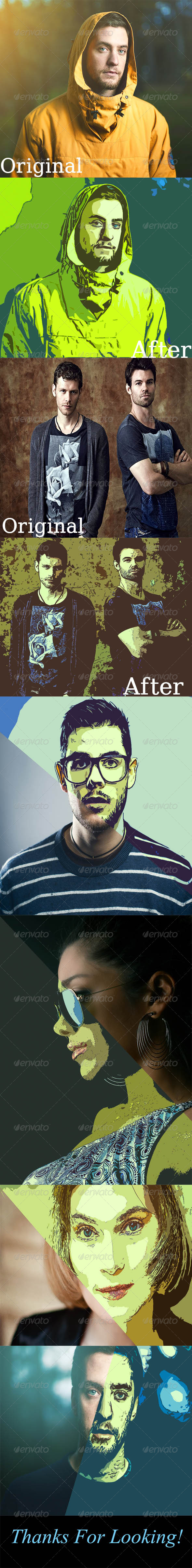 GraphicRiver Vintage Photo Actions 8030612
