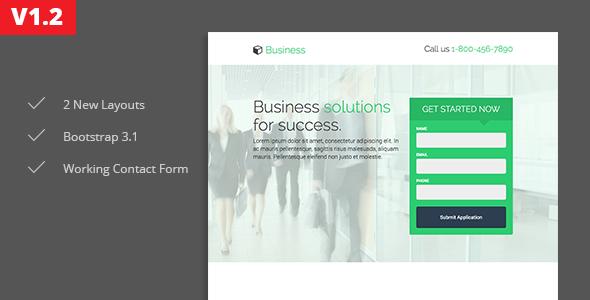 Oregon - Business Landing Page