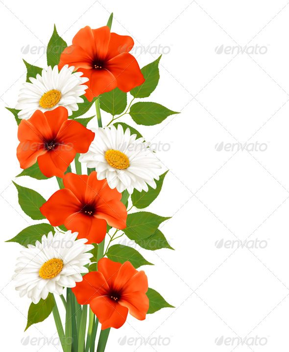 GraphicRiver Flower Background 8031153