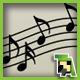 Music Note Brush Set +