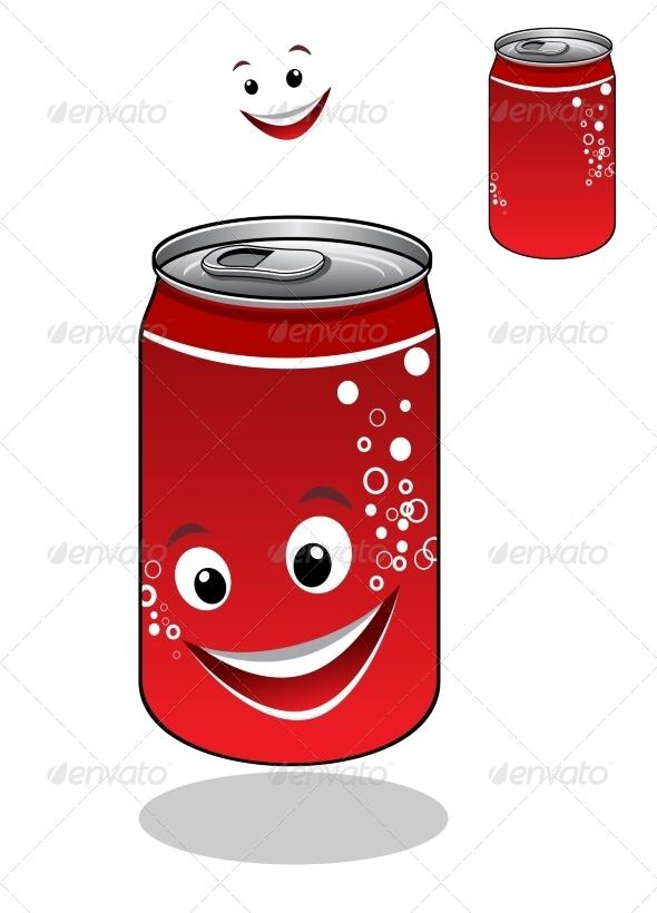 GraphicRiver Soda Can Cartoon 8031559