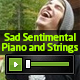 Sad Sentimental Piano & Strings 1 - AudioJungle Item for Sale