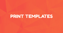 SIMPLE PRINT TEMPLATES