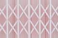 Pink metal grille sliding door - PhotoDune Item for Sale
