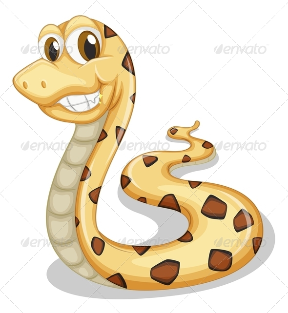 GraphicRiver Smiling Snake 8032270