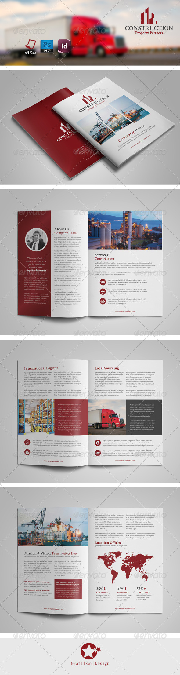 GraphicRiver International Brochure Templates 8032699