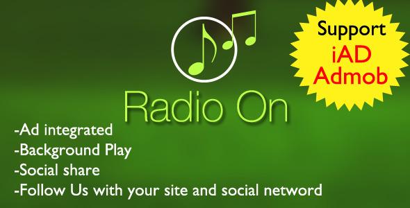 CodeCanyon Radio on App 8032741