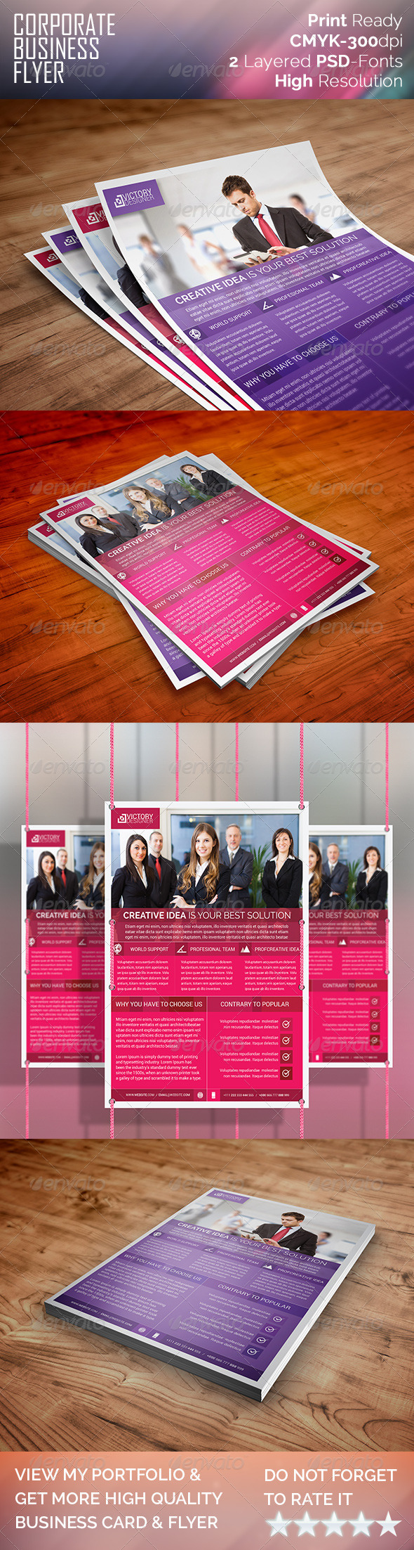 GraphicRiver Modern & Corporate Business Flyer 8023878