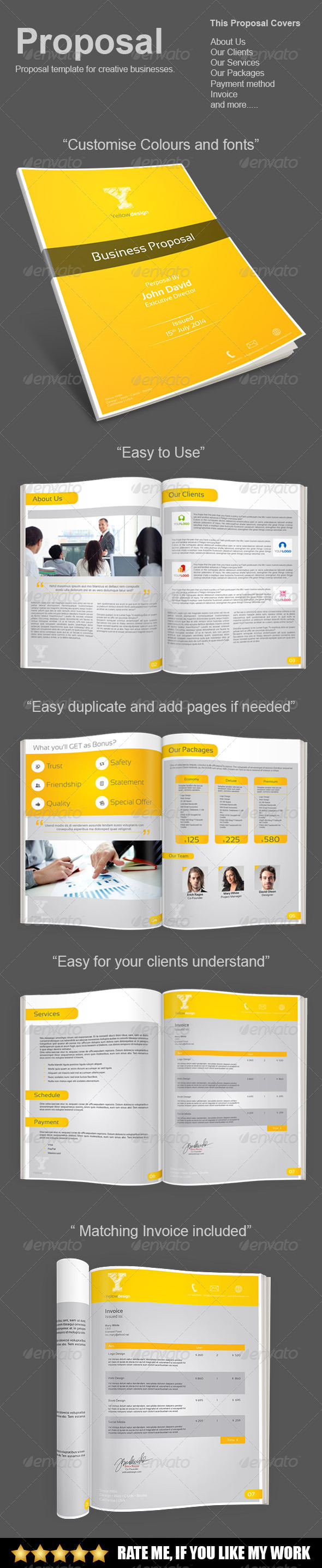 GraphicRiver Proposal Template 8024136
