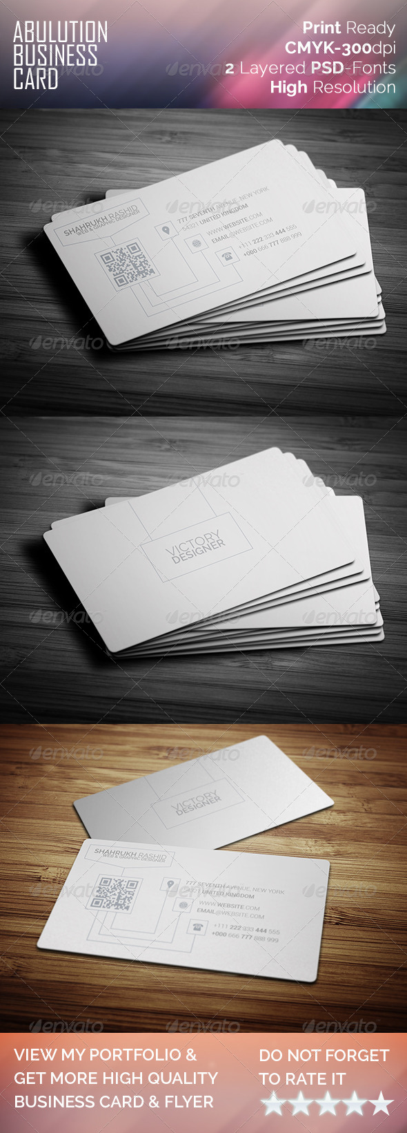 GraphicRiver Abulution Business Card 8023805