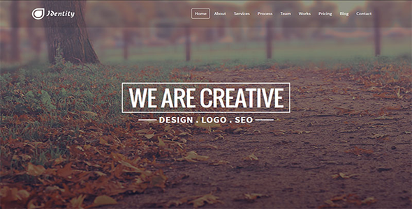 ThemeForest Identity Responsive Multipurpose Template 7832313