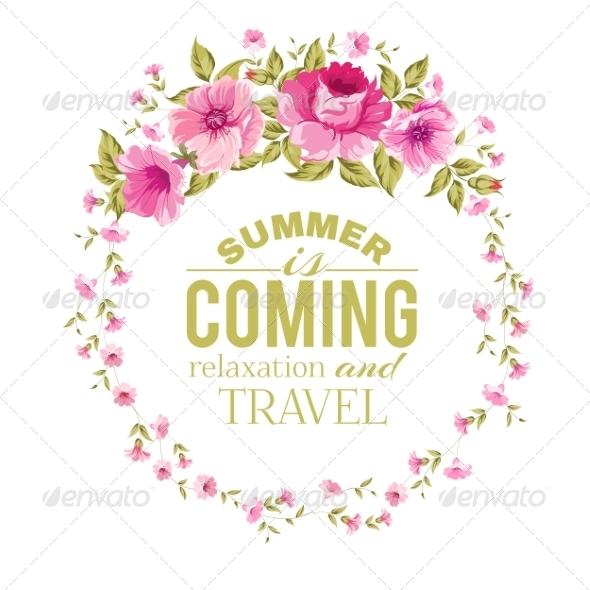 GraphicRiver Floral Frame 8033136