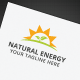Natural Energy Logo - GraphicRiver Item for Sale