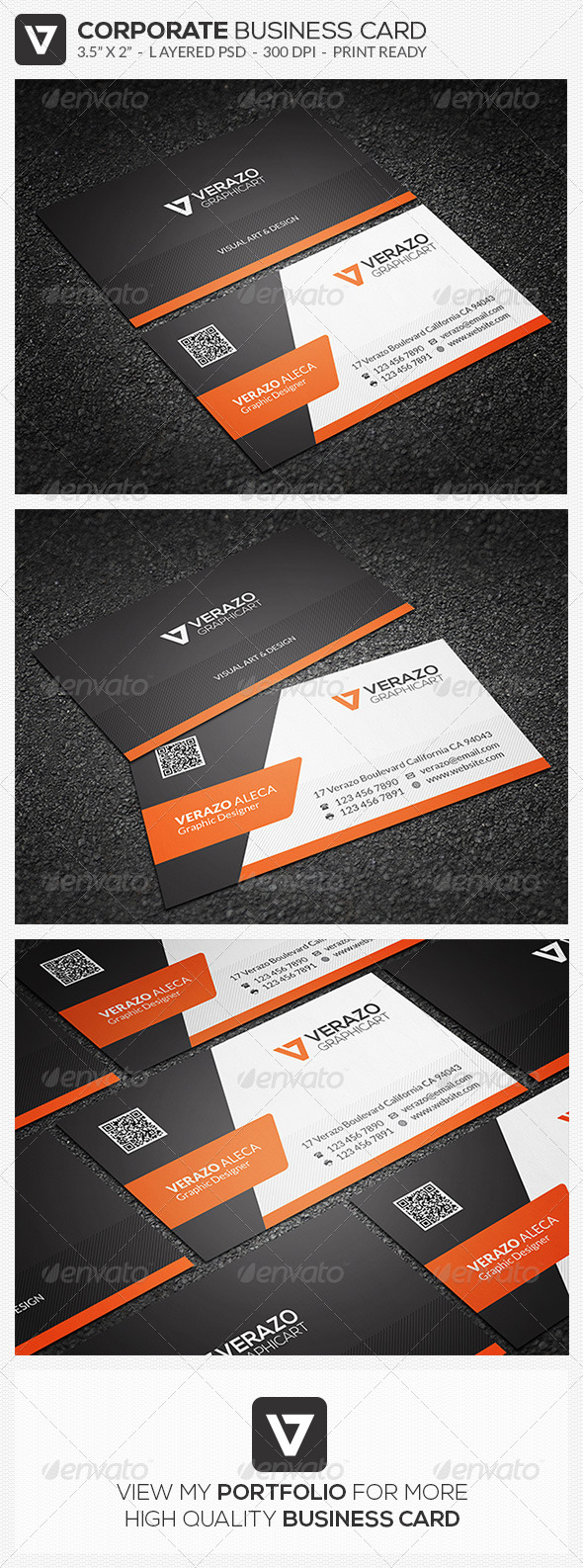 GraphicRiver Creative Corporate Business Card 42 8033422