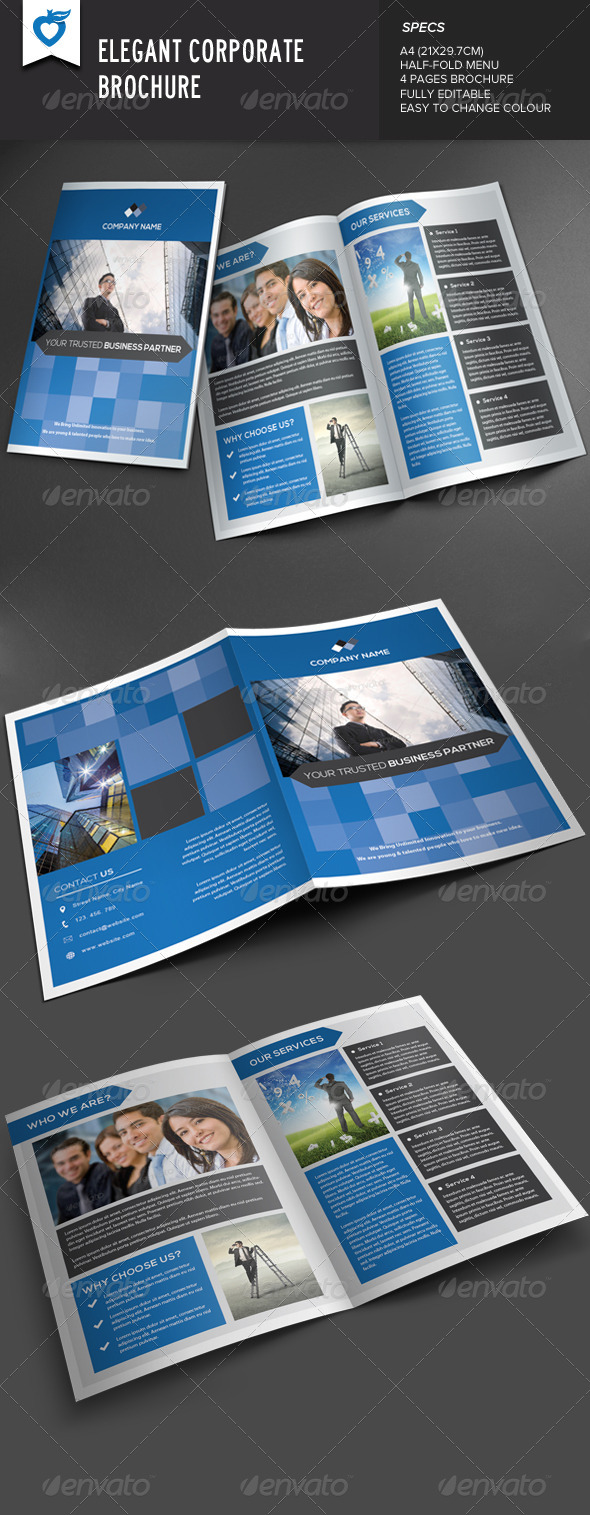 GraphicRiver Elegant Corporate Brochure 8033481