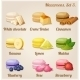 Macaroons. Set 3. - GraphicRiver Item for Sale