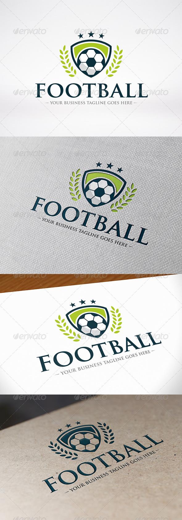 GraphicRiver Football Team Logo Template 8035015