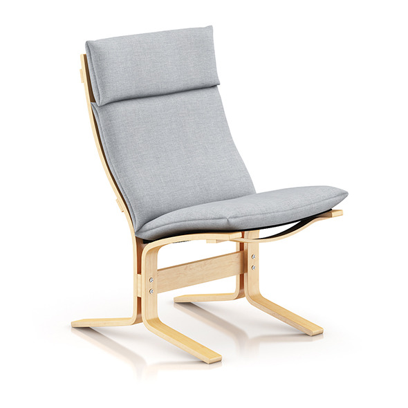 3DOcean Wooden Lounge Chair 8035576