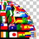 Country Flags Globe Pack (Pack of 2) - VideoHive Item for Sale