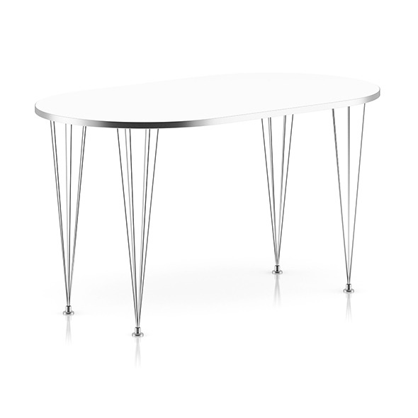 3DOcean Modern Metal Table 8035773