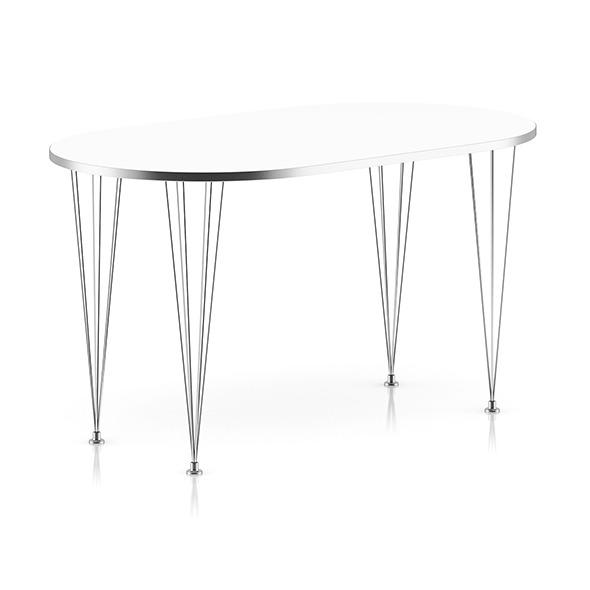 Modern Metal Table - 3DOcean Item for Sale
