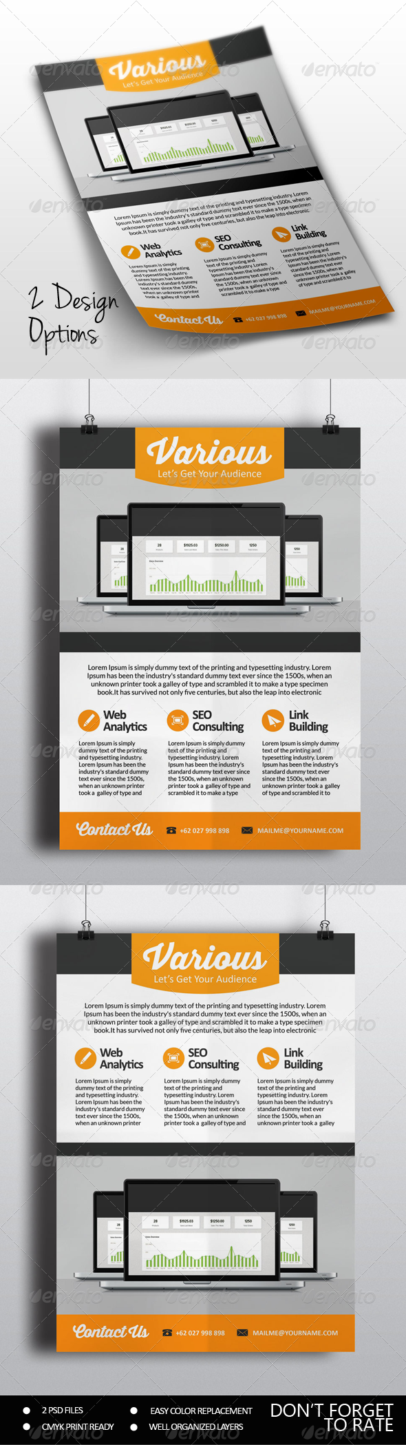 GraphicRiver SEO Marketing Flyer Vol.2 8035976