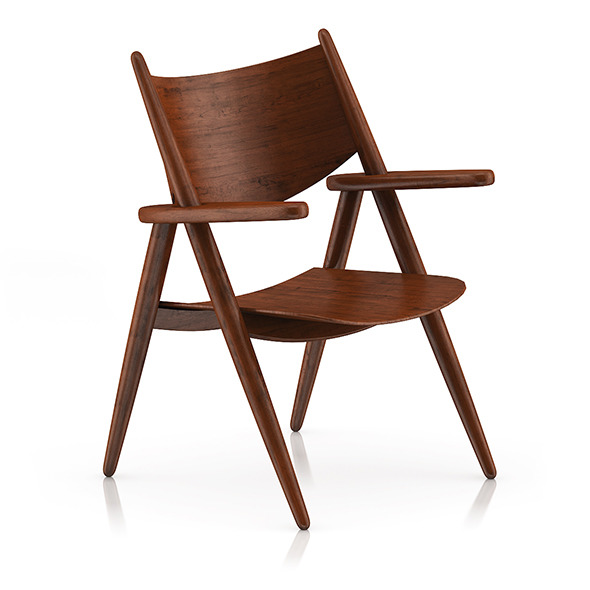 3DOcean Wooden Chair 2 8036038