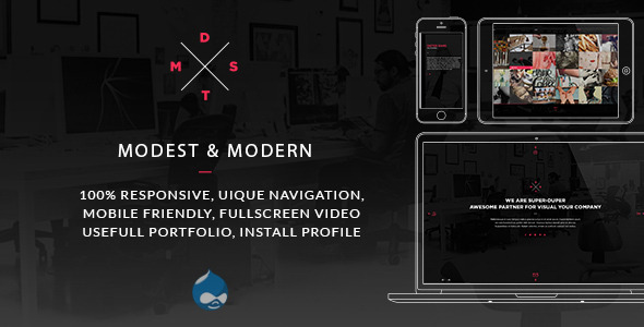 Image of MDST - Modest & Modern Multipurpose Drupal Theme